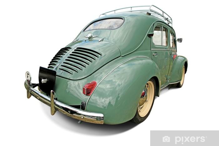 7d60a9c5a Carta da Parati Vecchia auto verde • Pixers® - Viviamo per il ...