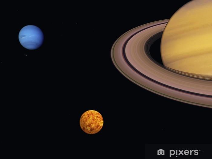 Papier peint vinyle Cosmos - Planètes