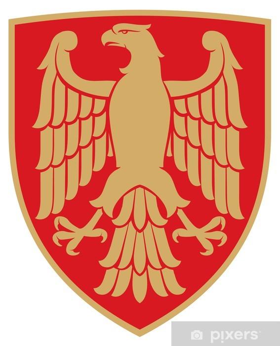 Aufkleber Adler Wappen Emblem Pixerstick