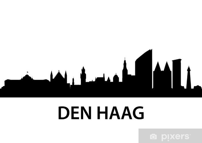 Skyline Den Haag Wall Mural Pixers 174 We Live To Change