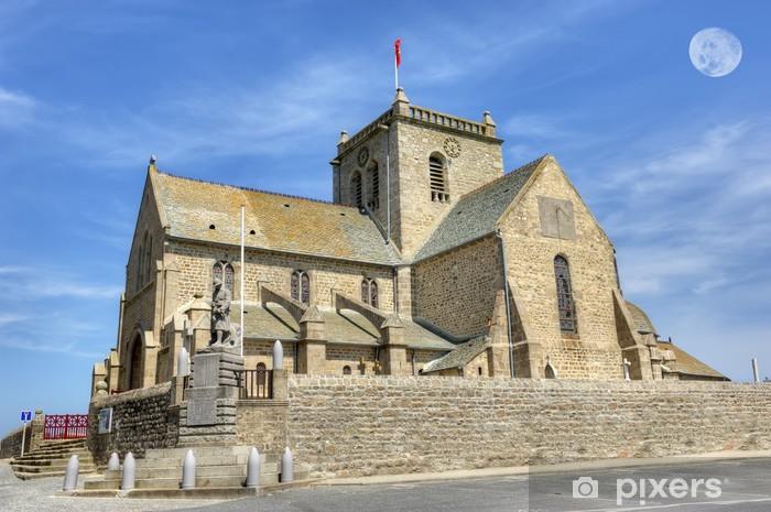 Naklejka Pixerstick Kościół Barfleur - Budynki użyteczności publicznej
