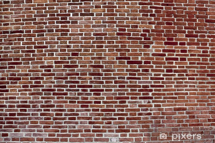 Background Of Convex Dark Red Brick Wall Wall Mural Pixers We Live To Change