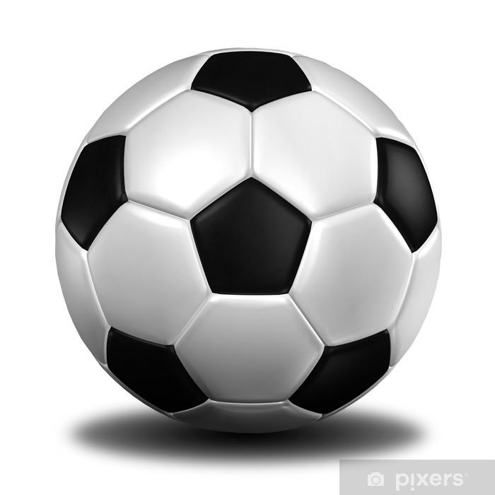 Fototapeta winylowa 3d świadczenia piłki nożnej. (Texture Leather) - Naklejki na ścianę