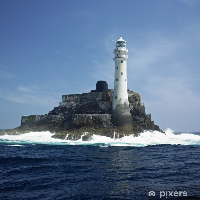 lighthouse, Fastnet Rock, County Cork, Ireland Pixerstick Sticker - Lighthouse