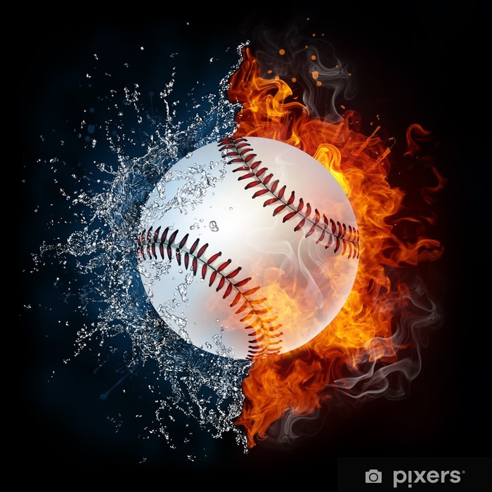 Plakat Baseball - iStaging