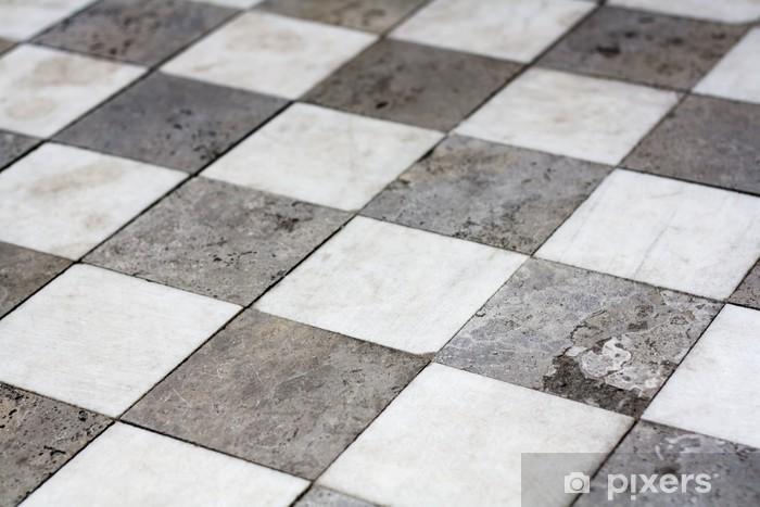 Naklejka Kamienne Kafelki Podłogowe Pixerstick