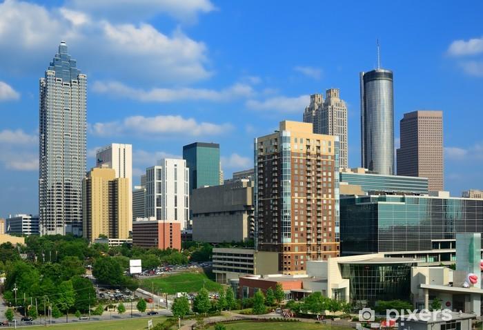 View of Downtown Atlanta, Georgia Vinyl Wall Mural - America