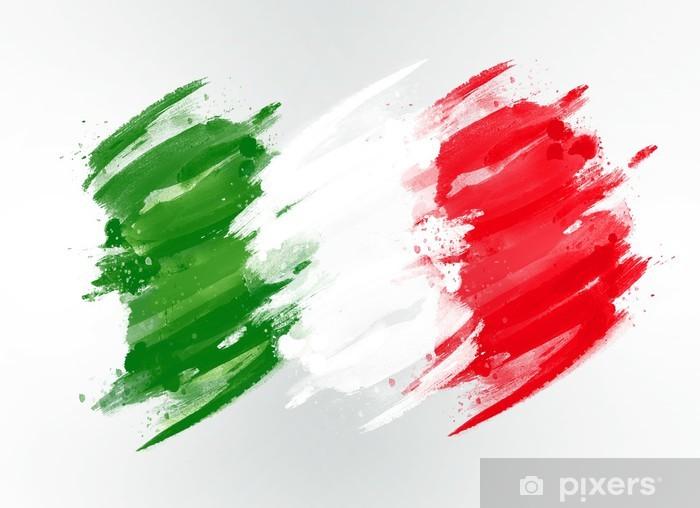carta da parati bandiera italiana pixers viviamo per