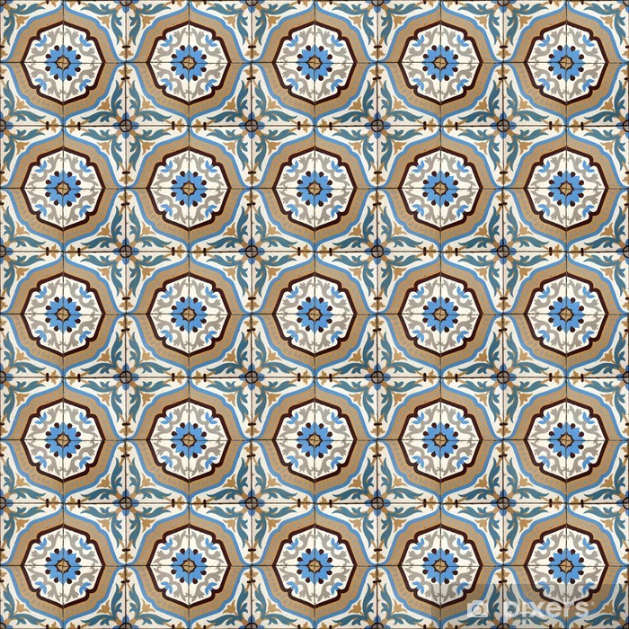 Fotomural Estándar Las tejas de cemento - Colonial