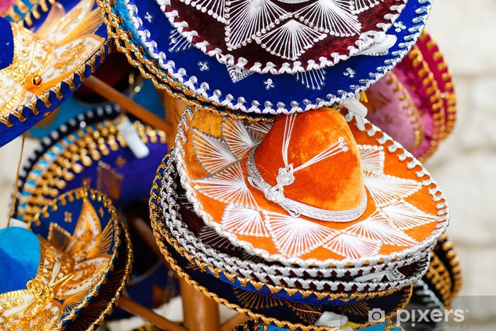 Carta da Parati Cappelli messicani • Pixers® - Viviamo per il ... f18e2beaa2cb