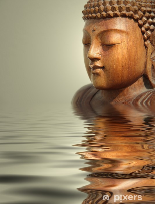 Fototapeta winylowa Budda wody tle - Tematy