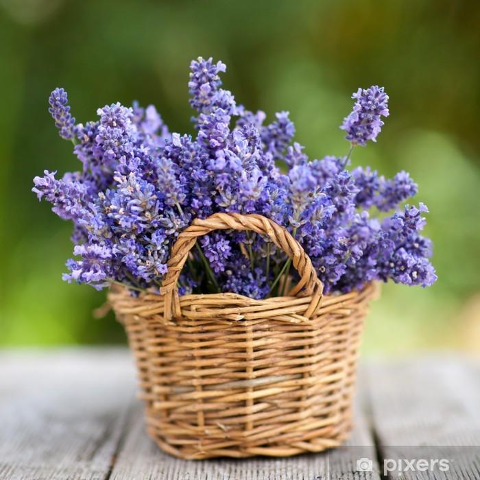 Lavendel Pixerstick Sticker - Styles