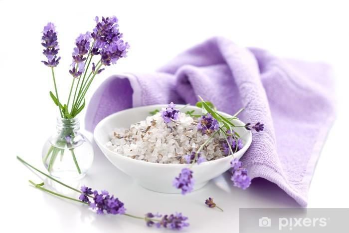 Pixerstick Sticker Wellness met lavendel - Schoonheid en Lichaamsverzorging