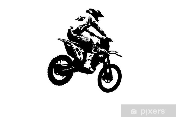 Fototapeta winylowa Motocross zworka - Przeznaczenia