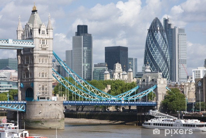 Fotomural Lavable Tower Bridge y The Gherkin. - Temas