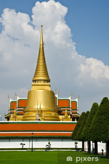 Vinyl-Fototapete Wat Phra Keo, Bangkok, Thailand. - Religion
