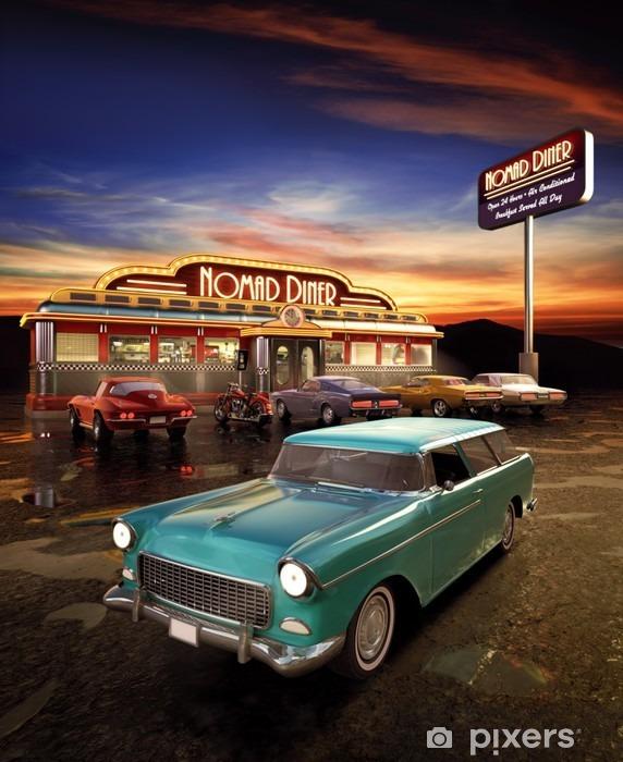 Vinyl Fotobehang American Diner - Stijlen