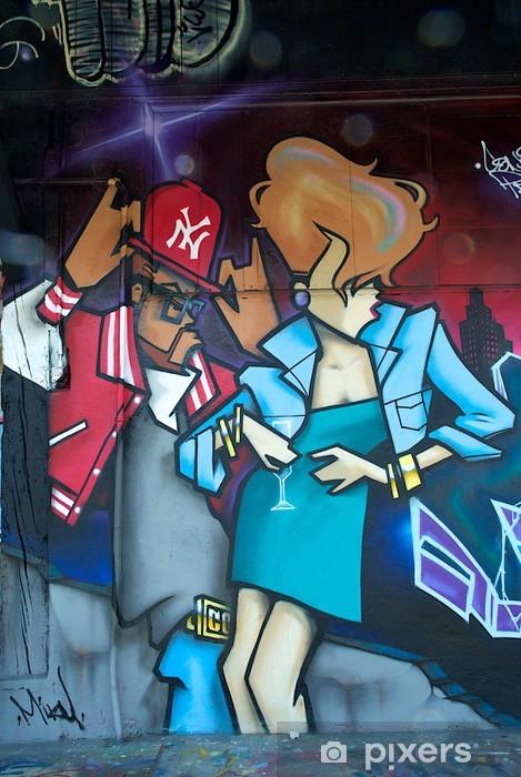 Fototapeta winylowa Graffiti Urbain - Tematy