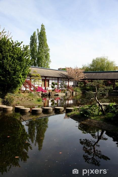 Papier peint vinyle Jardin japonais - Vacances