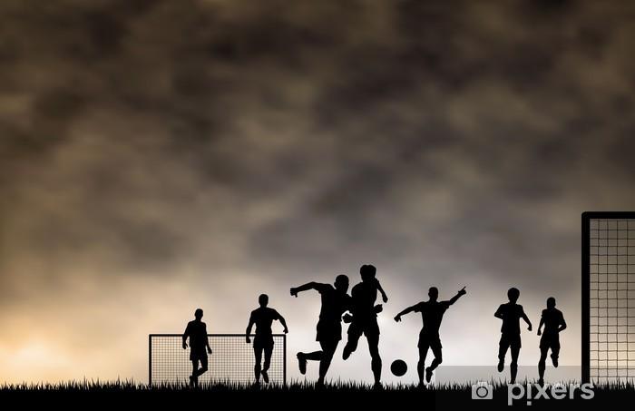 Fototapeta winylowa Piłkarski - Sporty indywidualne