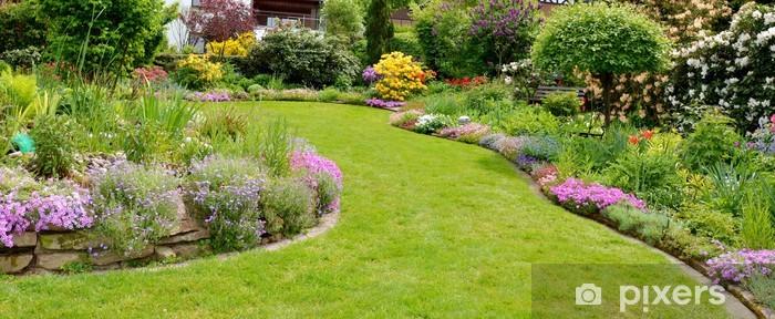 Naklejka Pixerstick Relaks w ogrodzie - Dom i ogród
