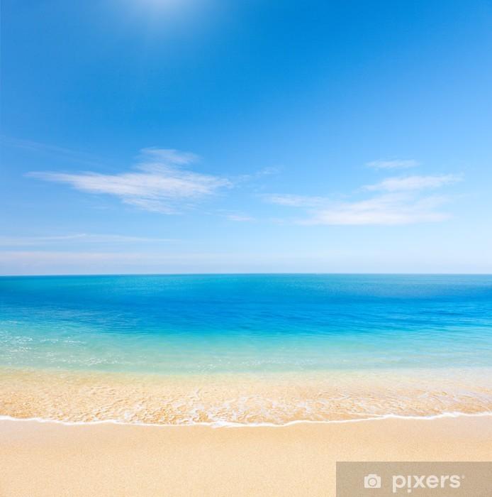 Nálepka Pixerstick Pláž a krásné tropické moře - Témata