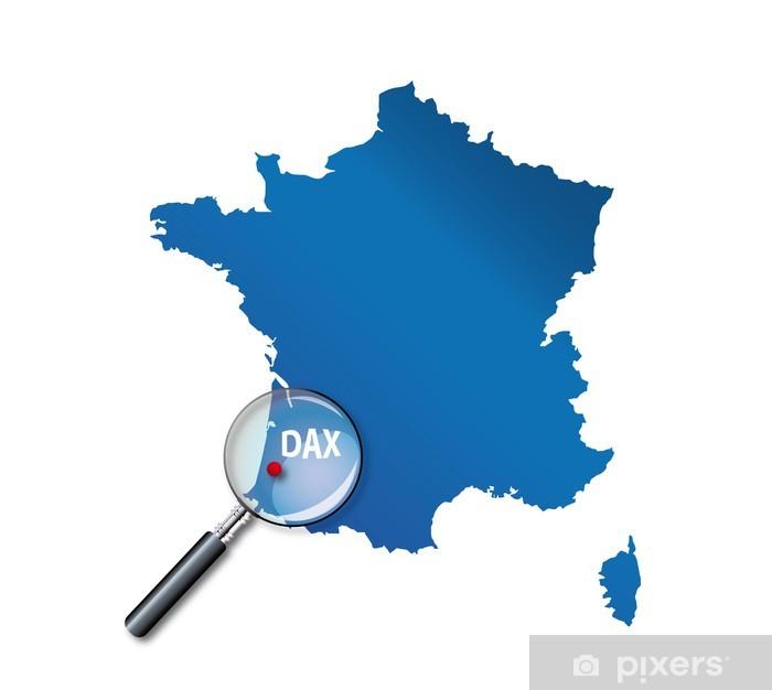 dax carte de france Dax : Localisation sur carte de France   département des Landes