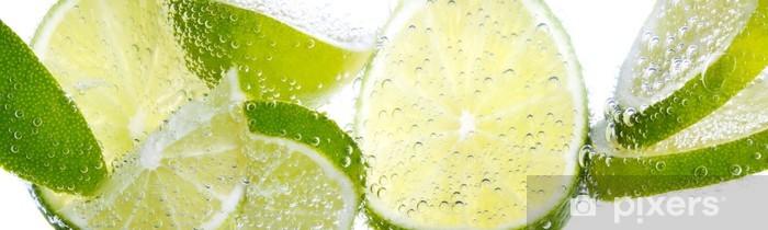 Fototapeta winylowa Limonki i cytryny - Przeznaczenia