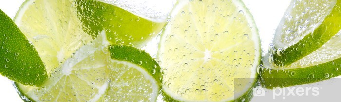 Vinilo Pixerstick Limette Zitrone y - Destinos