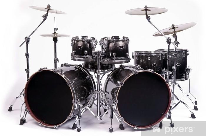 drums kit Pixerstick Sticker - Finance