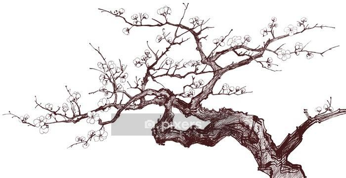 Vinilo para Pared Cherry tree - Estilos