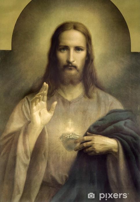 Pixerstick-klistremerke Hjertet av Jesus Kristus - Themes