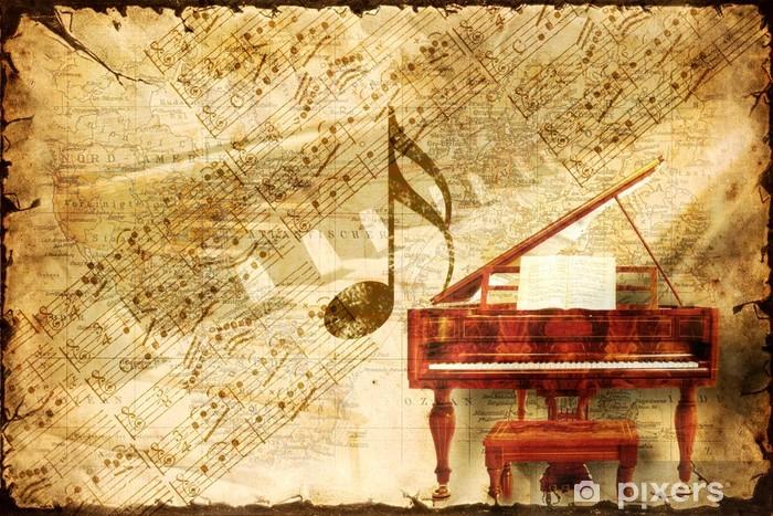 Papier peint vinyle Vintage Paper 18 - Musique