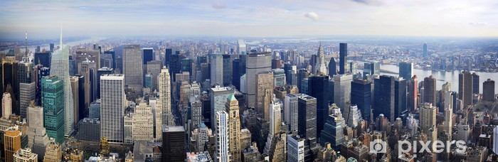 Sticker Pixerstick New York City panorama - Thèmes