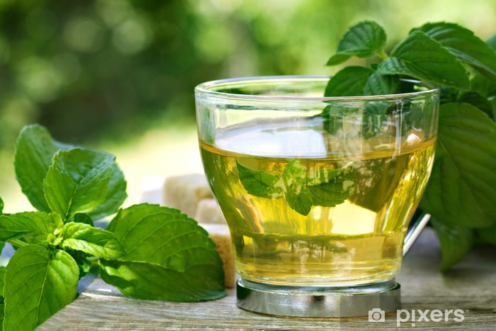Naklejka Pixerstick Jak herbata - Gorące napoje