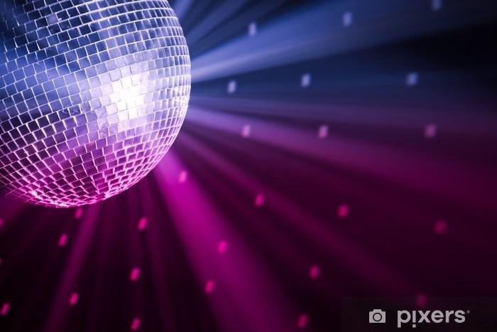 Fototapete Partybeleuchtung Discokugel Pixers Wir Leben Um Zu