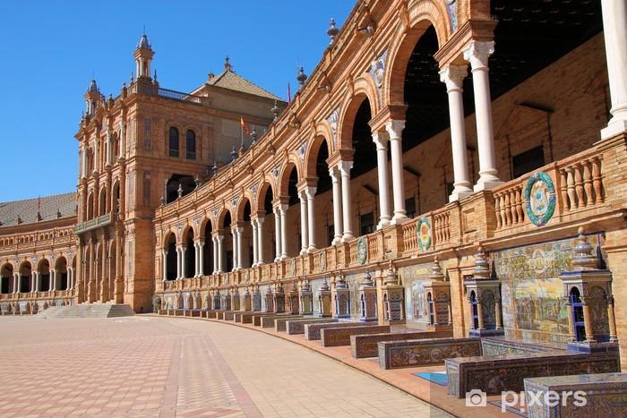 Naklejka Pixerstick Hiszpania Square - Europa