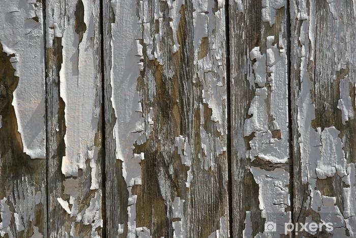 Sticker Pixerstick Fond en bois - Textures