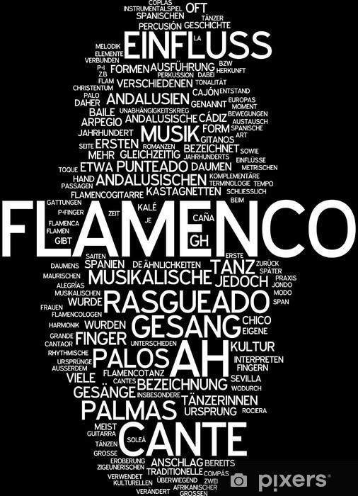 Fototapeta winylowa Flamenco - Tła