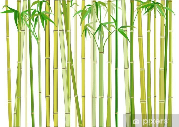 Buzdolabı Çıkartması Bambus - Bitkiler