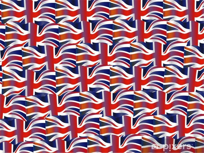 Fotobehang Vinyl Britse Vlag Wallpaper