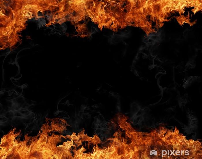 Papier peint vinyle Fire Background - Catastrophes naturelles