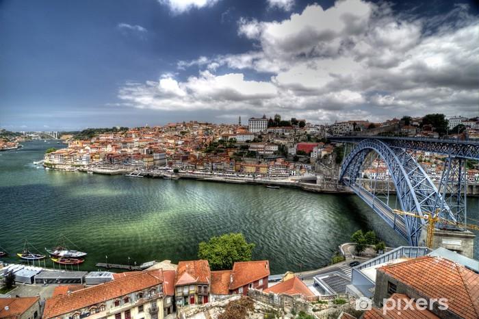 Papier peint vinyle Porto portugal - Europe