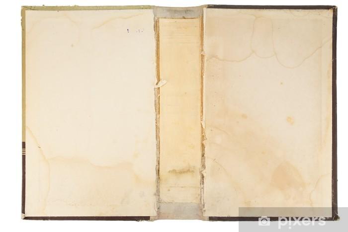 Vinyl-Fototapete Old Bucheinbandbeschaffenheit - Lesen