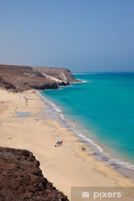 Vinylová fototapeta Pohled na španělské pláži Playa Barca - Vinylová fototapeta