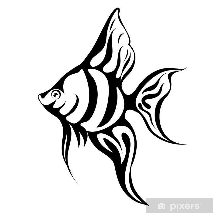 poster angel fish tattoo • pixers® - wir leben, um zu verändern  pixers