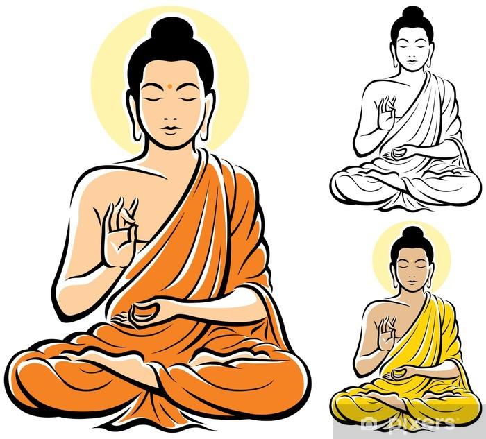 Fototapeta winylowa Budda - Religie