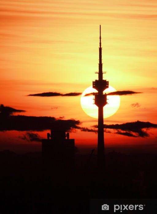 Vinylová fototapeta Fernsehturm München - Vinylová fototapeta