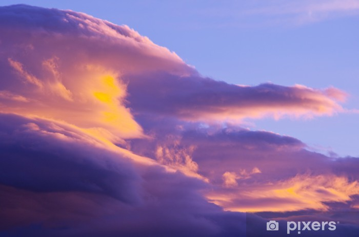Vinyl Fotobehang Sunset Wolken - Thema's