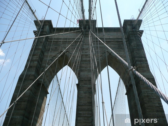 Vinyl-Fototapete Brooklyn bridge - Criteo
